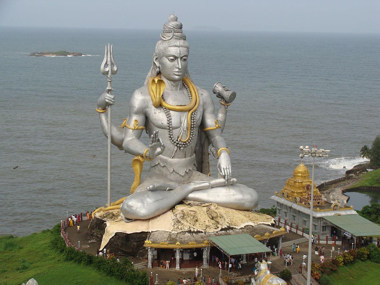 Lord Shiva Statue at Murdeshwara