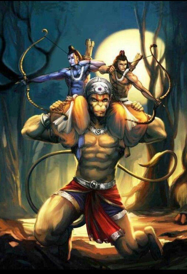 Hanuman – The Monkey...